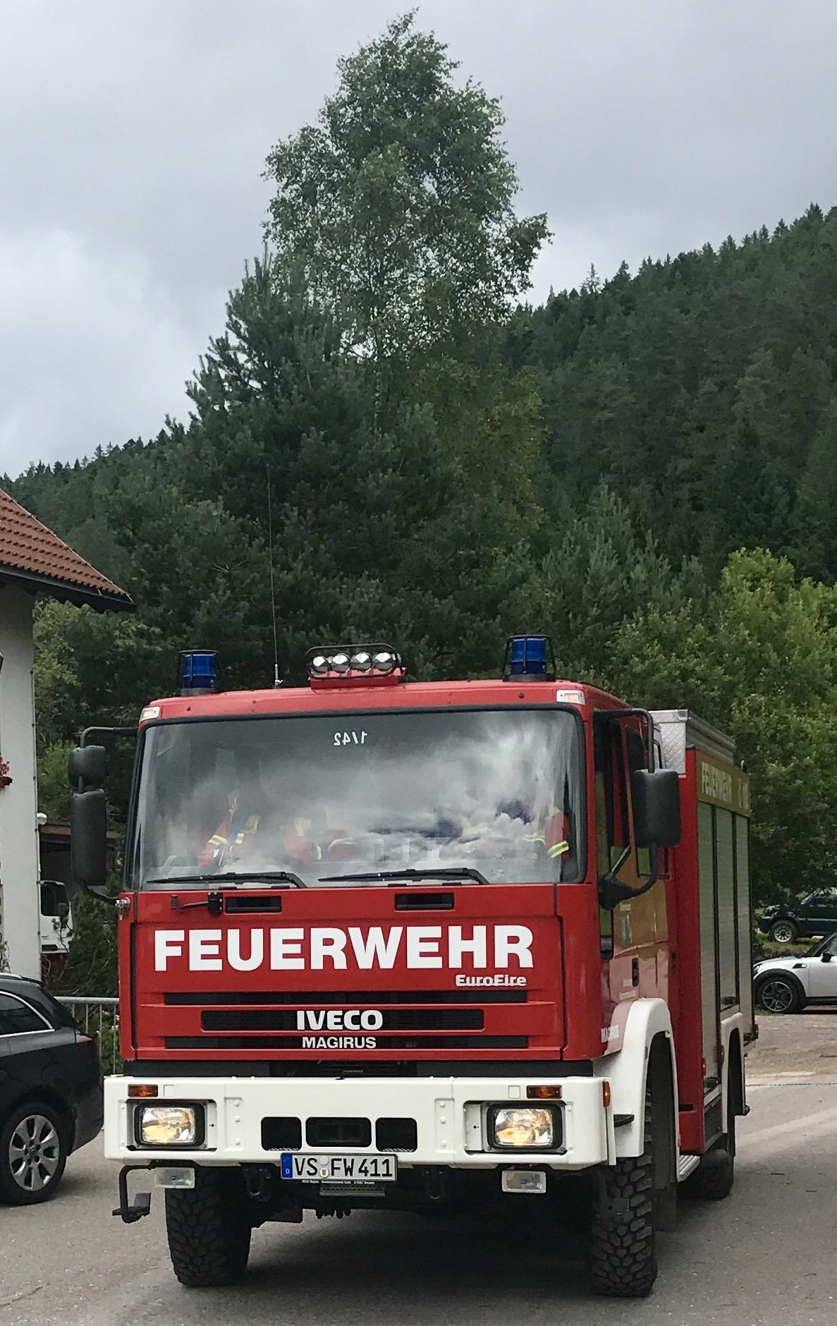 25/2017 Brandmeldeanlage Heim Fischerhof