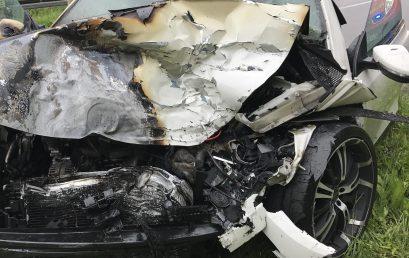 26/2017 Verkehrsunfall PKW gegen LKW