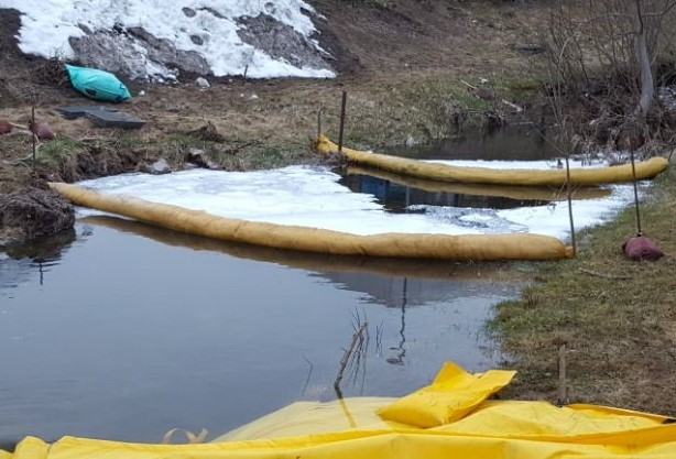 29 / 2018 Gewässerverunreinigung nach Verkehrsunfall