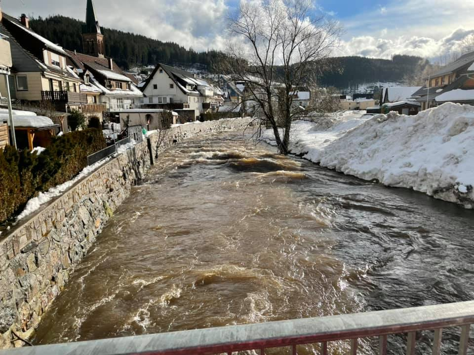 13 / 2021 Hochwasservoralarm Bregpegel