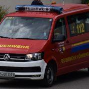 22 / 2021 Überlandhilfe Unterkirnach Brand Bereich Bernhardshütte