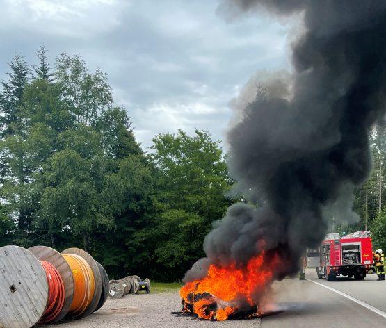 29 / 2021 Fahrzeugbrand